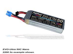 FLIGHTPOWER EVO-ULTRA 50 11.1V 2200mAh 3cell nano