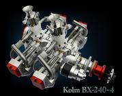 4-Cylinder 4-Stroke Flattwin Engine BX240-4